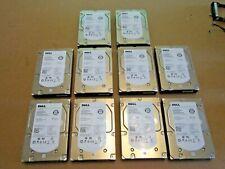 QTY. 10 DELL 300GB 15K 3.5 6 GBPS SAS DRIVES  F617N 9FL066-150 ST3300657SS
