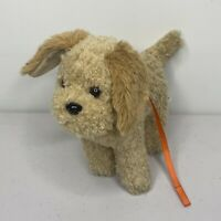 American Girl Doll MCKENNA DOG Cooper Goldendoodle Plush Puppy Collar Leash