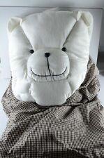 NWOT Magic Blanket White Bear Pillow and Travel Comforter Children Boys Girls