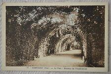 """CPA """" Compiègne - Le Parc - Berceau de l'Impératrice"""