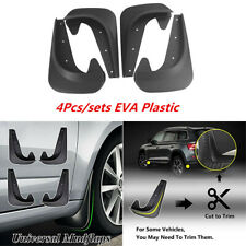 EVA Plastic Deluxe Molded Splash Guards Mud Flaps For Car Front Rear Left Right