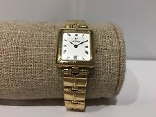 Vintage Watch Watch Montre VICEROY Quartz 23 x 21 mm Golden Steel