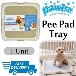 Dog Toilet Training Pad Holder Tray Potty Indoor Pee Wee Floor Protection Litter