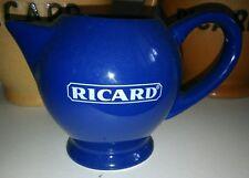 Petit Pichet RICARD céramique bleu rare
