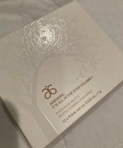 Arbonne It's All in the Eyes Volume 1 Eye Shadow Palette NEW 12 Colors