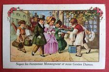CPSM. 1946. Enfants Déguisés. Cuisinier. Mitron. Hôtel. Couple Enfant.