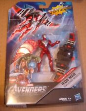 """2011 Marvel The Avengers Iron Man Divebomb Mission Figure 4""""W/Launching Disc"""