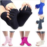 Many Colors Toe Separator Straightener Socks Bunion Foot Alignment Pain Relief
