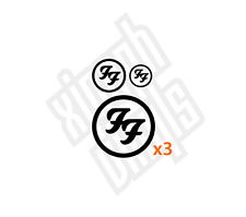 Foo Fighters Foos vinyl sticker decal ipad car cd dave grohl (Window Optional)