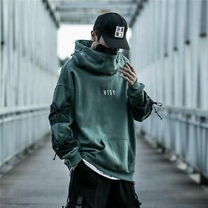 Niepce HTGY Hoodie Urban Asian Japanese Streetwear Jacket Mens Pullover