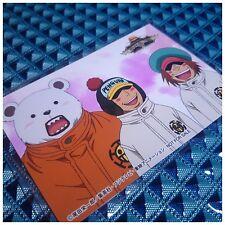 Mugiwara Store Limited One Piece Original Bromide Card Bepo & Penguin & Shachi