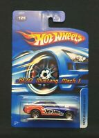 Hot Wheels 1970 Mustang Mach 1 #125 (Blue)