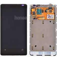 for Nokia LUMIA 800 N800 LCD Display Touch Screen Digitizer Front Frame Black