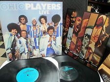 The Ohio Players Live 1977 Vinyl LP Love RollerCoaster Fire Skin Tight Funk Soul