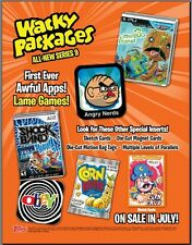 WACKY PACKAGES All-New Series 9 (1 Sealed Pack) HOT!