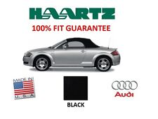 Audi TT 2000-2005 Convertible Soft Top With Glass Window Black Twillfast II RPC