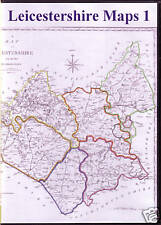 Genealogy - Leicestershire Maps - 25 maps on CD