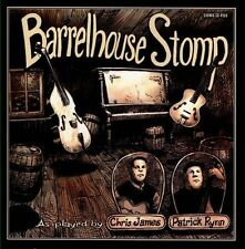 Barrelhouse Stomp by Patrick Rynn/Chris James (Blues) (Cd, Earwig)