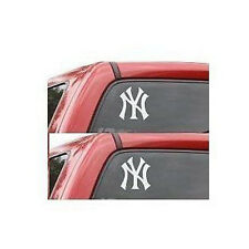 2 New York Yankee Decal stickers NY Window Stickers