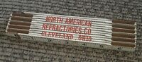 North American Refractories Co Cleveland Ohio ANTIQUE LUFKIN 460 FOLDING RULER