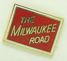 Railroad Hat-Lapel Pin/Tac -Chicago Milwaukee St Paul & Pacific (CMSP&P) #1090