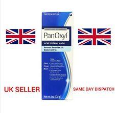 PanOxyl Acne Creamy Wash 4% Benzoyl Peroxide Spot Treatment Daily Wash UK SELLER