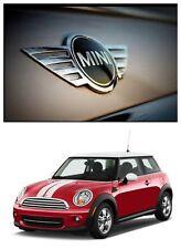 Mini Cooper Badge Wing Logo Front bonnet Rear Trunk Hood metal sticker
