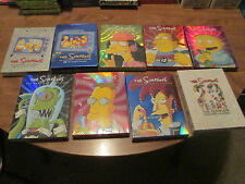 LOT 9 THE SIMPSON 1,4,12,13,14,15,16,17,20 Season DVD 4 Disc Set NEW SEALED US
