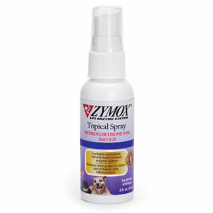 Dog Hot Spot Topical Spray Heal Pet Skin Conditions Safe Gentle Hydrocortisone