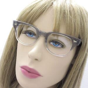 VTG Pathway Grey Eyeglasses Frames Made In The USA 48 22 150