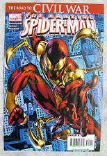 Amazing Spider-Man #529 KEY issue 1st Iron Spider Armor Civil War BIG PICS