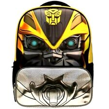 """Transformers Bumble Bee 16"""" Backpack with two main compartments-Brand New!"""