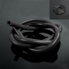 1PC Full Black Silicone Fuel/Air Vacuum Hose/Line/Pipe/Tube 1 Meter Universal