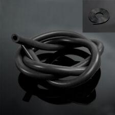 1PC Full Black Silicone Fuel/Air Vacuum Hose/Line/Pipe/Tube 1 Meter Universal