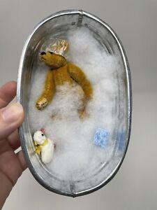 Little Gems Miniature Teddybear Bath time Tub Ducky Shower Cap Sponge Bubbles