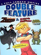 Dennis the Menace/ The Amazing Zorro DVD Family Kids Cartoon 2 Movies Sealed New