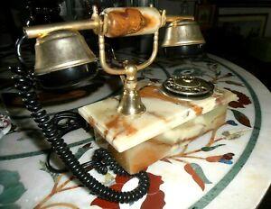 Vintage telefono in onice