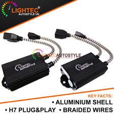 2x LIGHTEC MOSFET H7 LED HEADLIGHT DECODERS ANTI FLICKER ERROR FREE RESISTORS