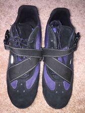Vintage Nike ACG Mountain Cycling Shoes Mens Size 8 Black/Blue
