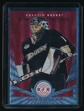 JONAS HILLER 2013-14 TOTALLY CERTIFIED PLATINUM RED #129 004/100 ANAHEIM DUCKS