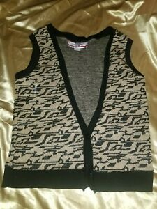 mens - FERRIS BUELLER'S DAY OFF sweater - M - VEST - 80's Paramount