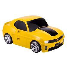 Kinderkoffer Hauptstadtkoffer Autokoffer Chevrolet Camaro Trolley gelb Gepäck