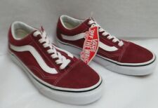 Vans Old School Rumba Red/Off White Classic Skate Shoes M 4.5/W 6.0 NWOB