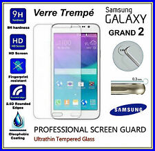 SAMSUNG GALAXY GRAND 2 Tempered Glass Vitre de protection d'écran VERRE TREMPE