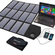Solarpanel 18V 100 W faltbar Solarzelle Solarmodule Solarladegerät für Camping