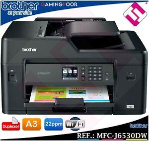 Multifonction Brother MFC J6530DW Duplex Scanner Imprimante din A3 A4 Fax Wifi