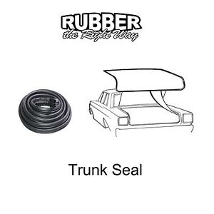 1971 - 1979 Mercury Cougar Trunk Seal