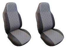 Seat Covers Black-Grey Volkswagen VW Golf Passat 2 3 4 5 Sharan Bora Polo Caddy