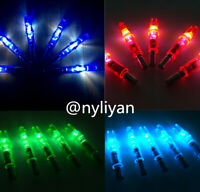 12PCS LED Lighted Arrow Nocks For Outdoor Hunting Compound Recurve Bow Archery