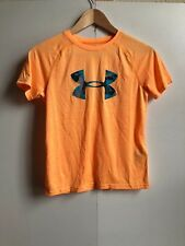Under Armour Kid's UA Logo Printed T-Shirt - YMD (9-10) - Peach